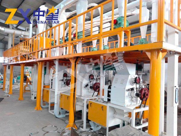 日产30吨玉米加工成套设备